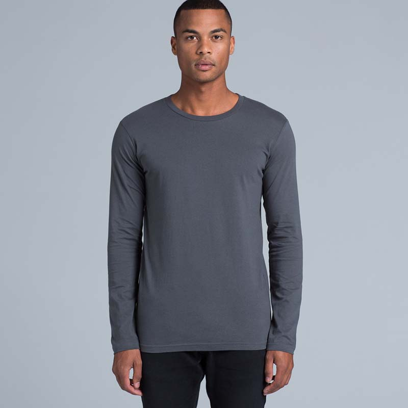 ASColour 5009 Ink Long sleeve tee