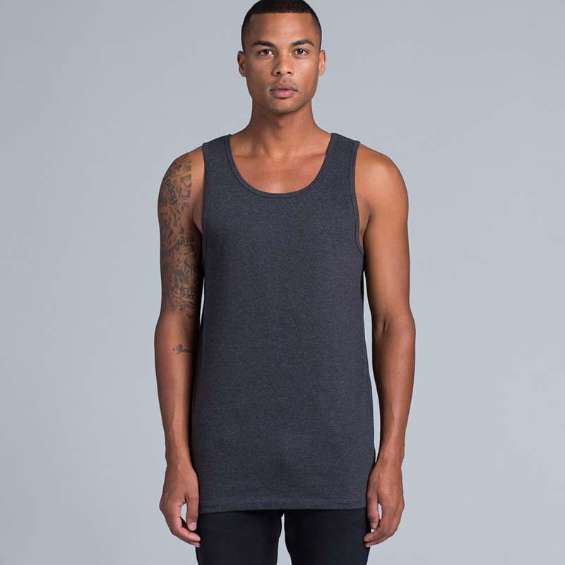 lowdown singlet worn by a as colour model